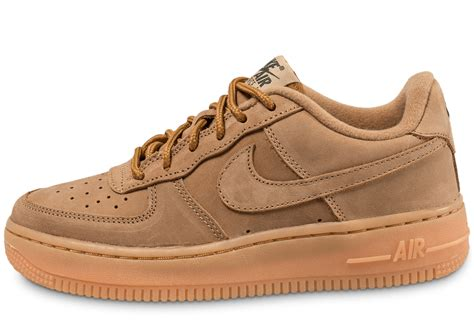 nike air force  winter premium gs flax chaussures femme