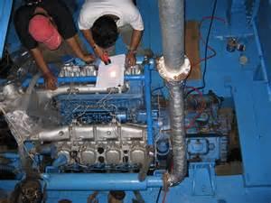 Mesin Kapal mengenal proses pembakaran pada mesin perikanan tangkap