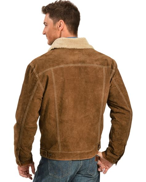 scully sherpa lined boar suede jacket country outfitter