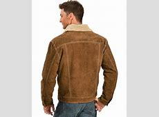 Scully Sherpa Lined Boar Suede Jacket - Country Outfitter Justin Boots For Men