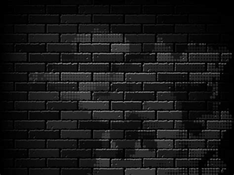 black wallpaper background vector shadowed black brick wall vector background welovesolo