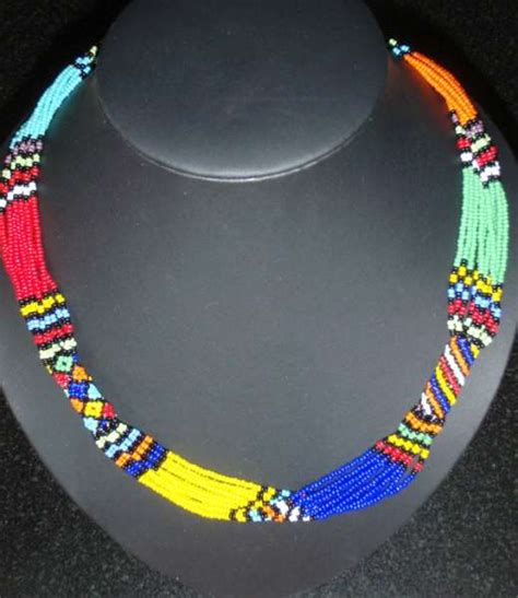 zulu handcrafted beaded necklaces