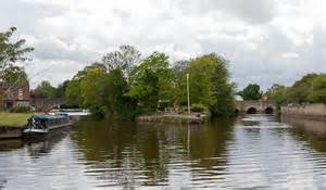 thames river islet island on river thames at abingdon 169 peter facey