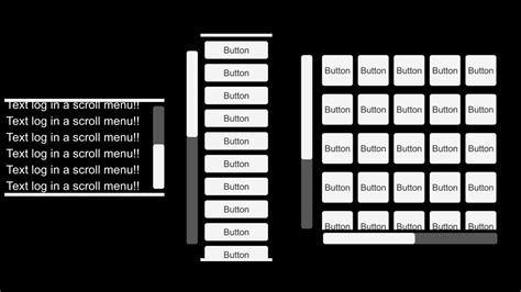 unity vertical layout group scroll unity ui scroll menu pt 4 text log a scrolling