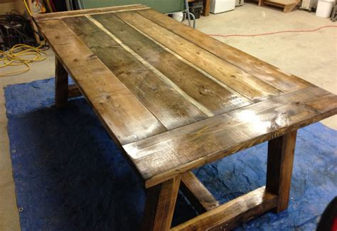 Build A Rustic Dining Table Build Diy Rustic Farmhouse Table Plans Pdf Plans Wooden Build Your Own Kitchen Island Plans