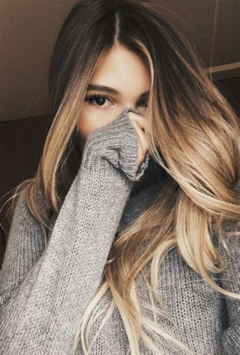 great ombre colors for long hair long hairstyles 2017