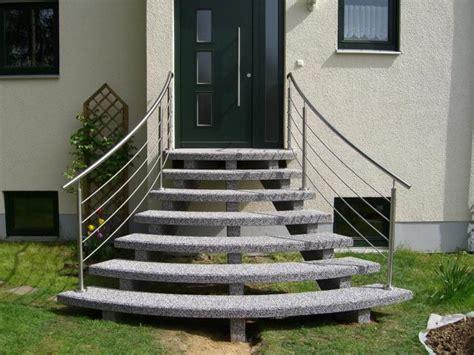 Hauseingang Treppe Modern by Au 223 Entreppen Aus Granit Oder Waschbeton