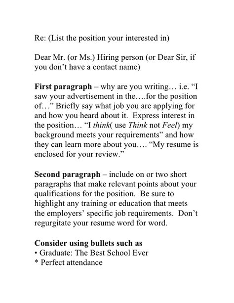 Cover Letter Exle If You Don T The Name Winning Blueprint To The Resume Cover Letter