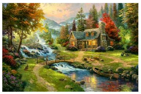 who is the painter of light carol ann kauffman s vision and verse thomas kinkade