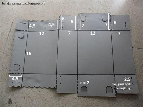 Pisau Lipat Bergerigi diy prakarya 1 cara membuat dus box makanan sendiri dengan pola mudah bara tinta