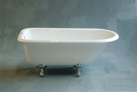 5 Foot Cast Iron Bathtub by Geneva 5 Foot Cast Iron Clawfoot Leg Tub 7 Inch Deck