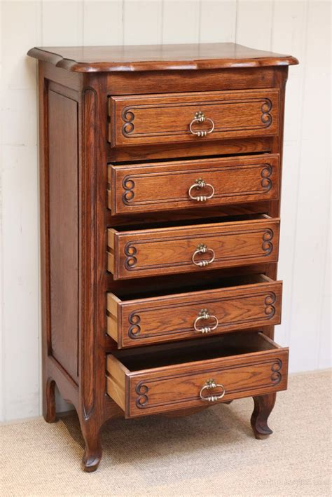 antique chest of drawers oak tall oak chest of drawers antiques atlas