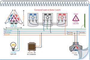 diagram of how a utility pole transformer diagram free
