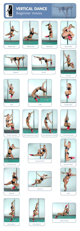 dance tutorial pdf pole beginner moves pole dancing pinterest