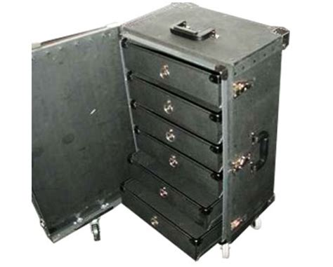 Suitcase With Drawers by Fibre Corp Salsesman Cases