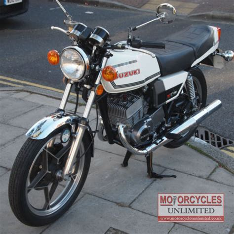 X7 250 Suzuki 1979 Suzuki Gt 250 X7 For Sale Motorcycles Unlimited