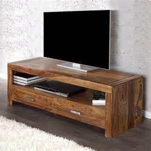fernseher tische tv tisch fernsehtisch salem aus sheesham massiv holz