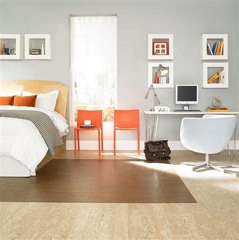 photos rooms cork flooring