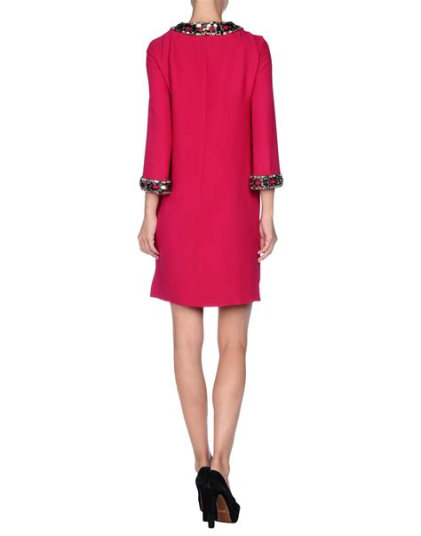 Get Macphersons Gucci Dress For 35 by Gucci Dress In Purple Fuchsia