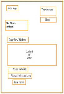layout of a formal business letter 9 formal letter layout financial statement form