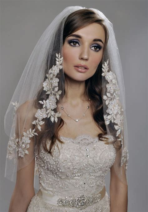 Wedding Hairstyles With Lace Veil by Gorgeous Wedding Veils The Magazine