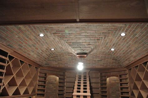 Ceiling Finish by Wine Cellar Ceiling Finishes Traditional Wine Cellar