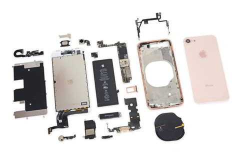 iphone  component costs  estimated   slightly