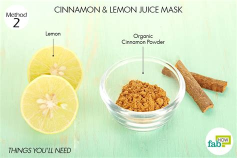 Acne Wash Lemon Tto Skinnova 2 how to use cinnamon for acne 6 diy masks for all skin types fab how