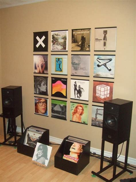 How To View Records How To Display Vinyl Records Records On Walls