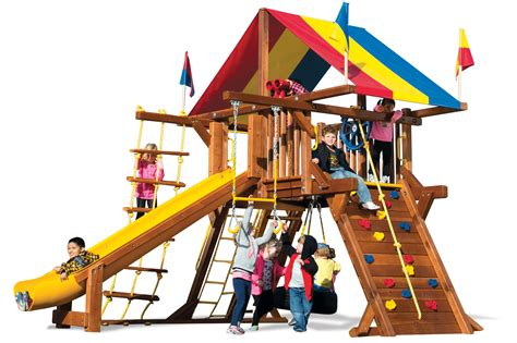 swing sets view rainbow swing sets rainbow play systems