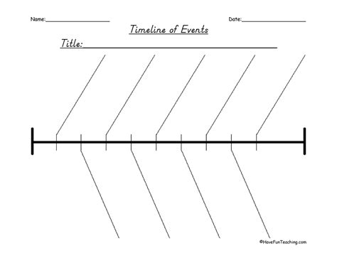 printable timeline organizer history timeline of events graphic organizer have fun