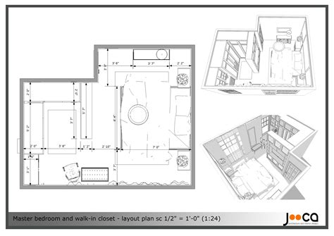 Master Closet Dimensions by Arcbazar Viewdesignerproject Projectbedroom Design