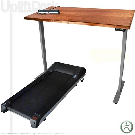 shop uplift solid wood treadmill desks sit stand walk