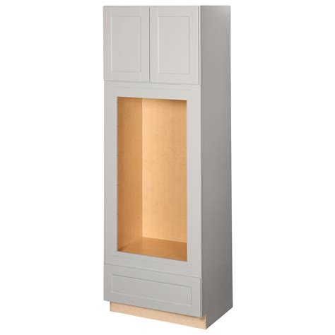 home depot canada assembled kitchen cabinets cabinet hton bay shaker assembled 33 x 96 x 24 in pantry