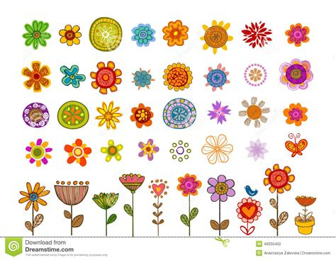 any design of flowers flowers vector stock vector image 49250402