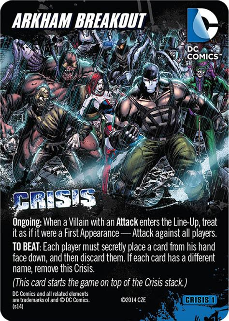 Dc Deck Building Card Templates by Dc Crisis Expansion Pack 1 Preview Cryptozoic Entertainment