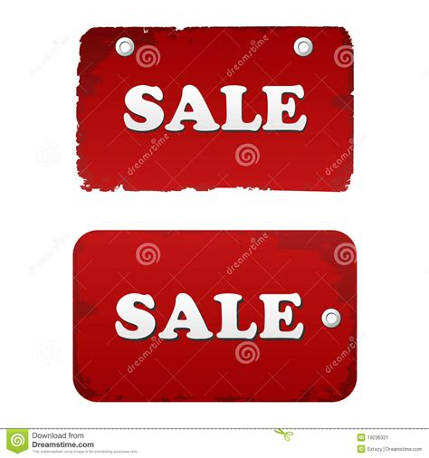 vector sale set discount tags labels stock image