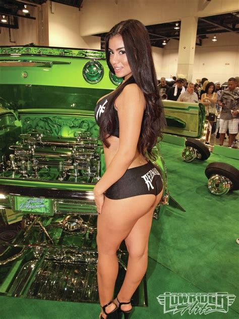 mexican car show girls latinas models and cars on pinterest