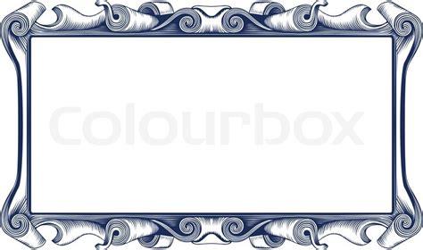 Home Design Victorian Style vintage emblem border stock vector colourbox