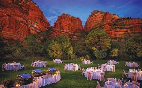 Enchantment Resort Amazing Arizona wedding venues
