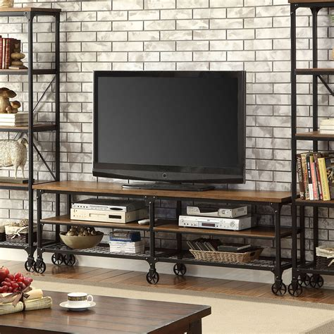 furniture of america engels industrial 72 tv stand home