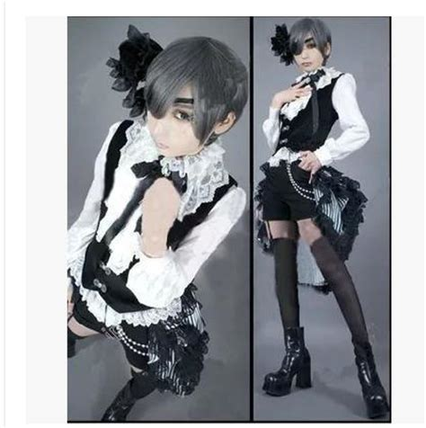 Costume Kuroshitsuji Ciel get cheap ciel phantomhive aliexpress