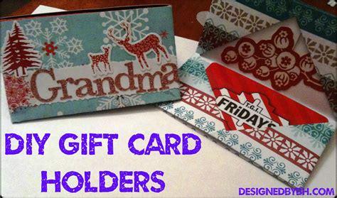 Homemade Gift Card Holder - a handmade christmas 21