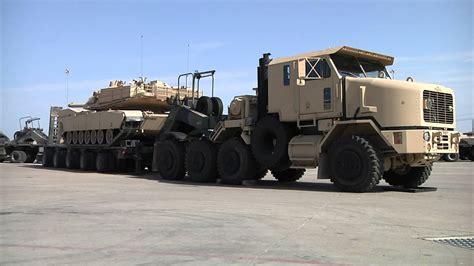 used semi m1000 hets 40 wheel semi trailer heavy equipment
