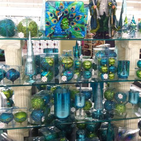 hobby lobby peacock christmas ornaments pinterest