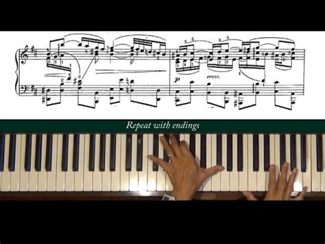 bach air on the g string piano tutorial bach siloti air on a g string piano tutorial