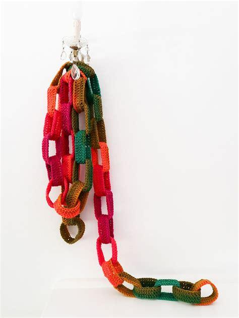 Paper Garland Pattern crochet paper chain garland my poppet makes