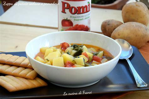 zuppa di sedano e patate zuppa di patate sedano e pomodoro la cucina di franci