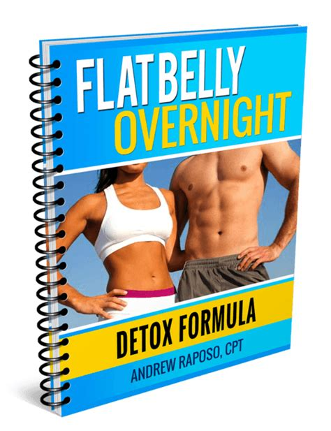 Belly Detox Formula flat belly overnight andrew raposo weight loss legit or