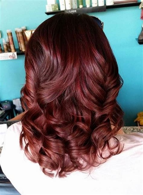chocolate cherry hair color pictures hair dye chocolate cherry gallery hair color inspiration